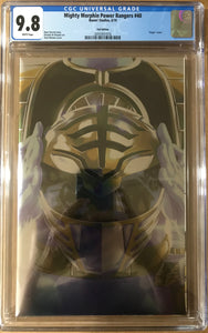 MIGHTY MORPHIN POWER RANGERS #40 FOIL VARIANT CGC 9.8