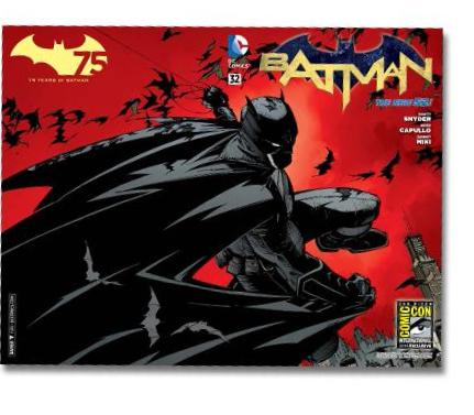 BATMAN #32  SAN DIEGO COMIC CON EXCLUSIVE 2014