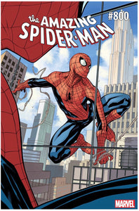 AMAZING SPIDER-MAN #800 TERRY DODSON VARIANT RELEASE DATE 05/30