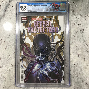 ABSOLUTE CARNAGE LETHAL PROTECTORS #1 (OF 3) PUTRI 1:25 CODEX VARIANT CGC 9.8
