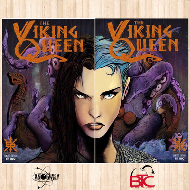 VIKING QUEEN ONE SHOT BTC & ANOMALY CONNECTING VARIANT COVER SET