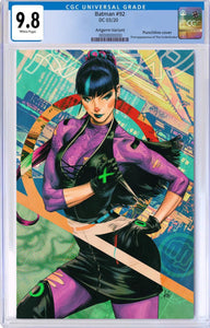 "BATMAN #92 ARTGERM ""PUNCHLINE"" VARIANT CGC 9.8 + FREE NM RAW COPY"