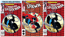 BTC 300 TRIPLE PACK: SPAWN #300 - TRUE BELIEVERS ASM300 (1ST PRINT) - ASM300 3D EDITION 09/04/19 FOC 07/08/19