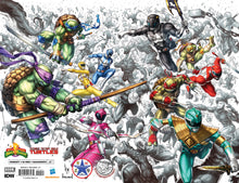 POWER RANGERS TMNT #1 INHYUK LEE, ALAN QUAH & KAEL NGU EXCLUSIVE VIRGIN COVER