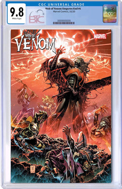 WEB OF VENOM EMPYRES END #1 CGC 9.8