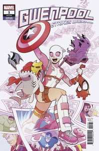 GWENPOOL STRIKES BACK #1 (OF 5) GURIHIRU VARIANT 08/14/19 FOC 07/22/19