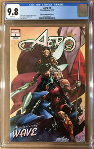 AERO #3 KAEL NGU EXCLUSIVE TRADE DRESS CGC 9.8