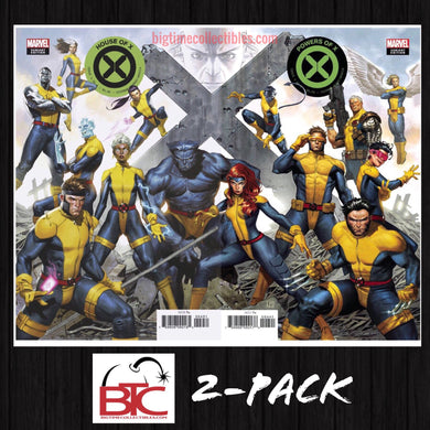 HOUSE OF X & POWERS OF X #4 MOLINA CONNECTING VARIANT SET NM 09/11/19