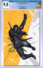GI JOE A REAL AMERICAN HERO #275 INHYUK LEE EXCLUSIVE VIRGIN VARIANT CGC 9.8