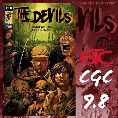 THE DEVILS #1 BTC EXCLUSIVE CGC 9.8 COA #1-#10