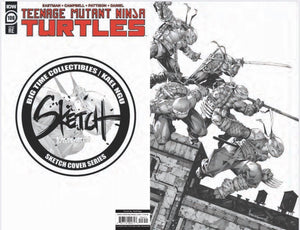 TMNT #106 BTC / KAEL NGU SKETCH COVER SERIES ONE 07/15/20