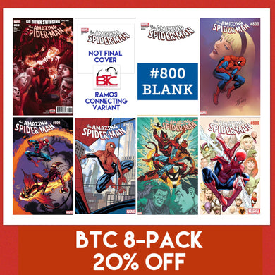 AMAZING SPIDER-MAN #800 BTC 8-PACK 20% OFF