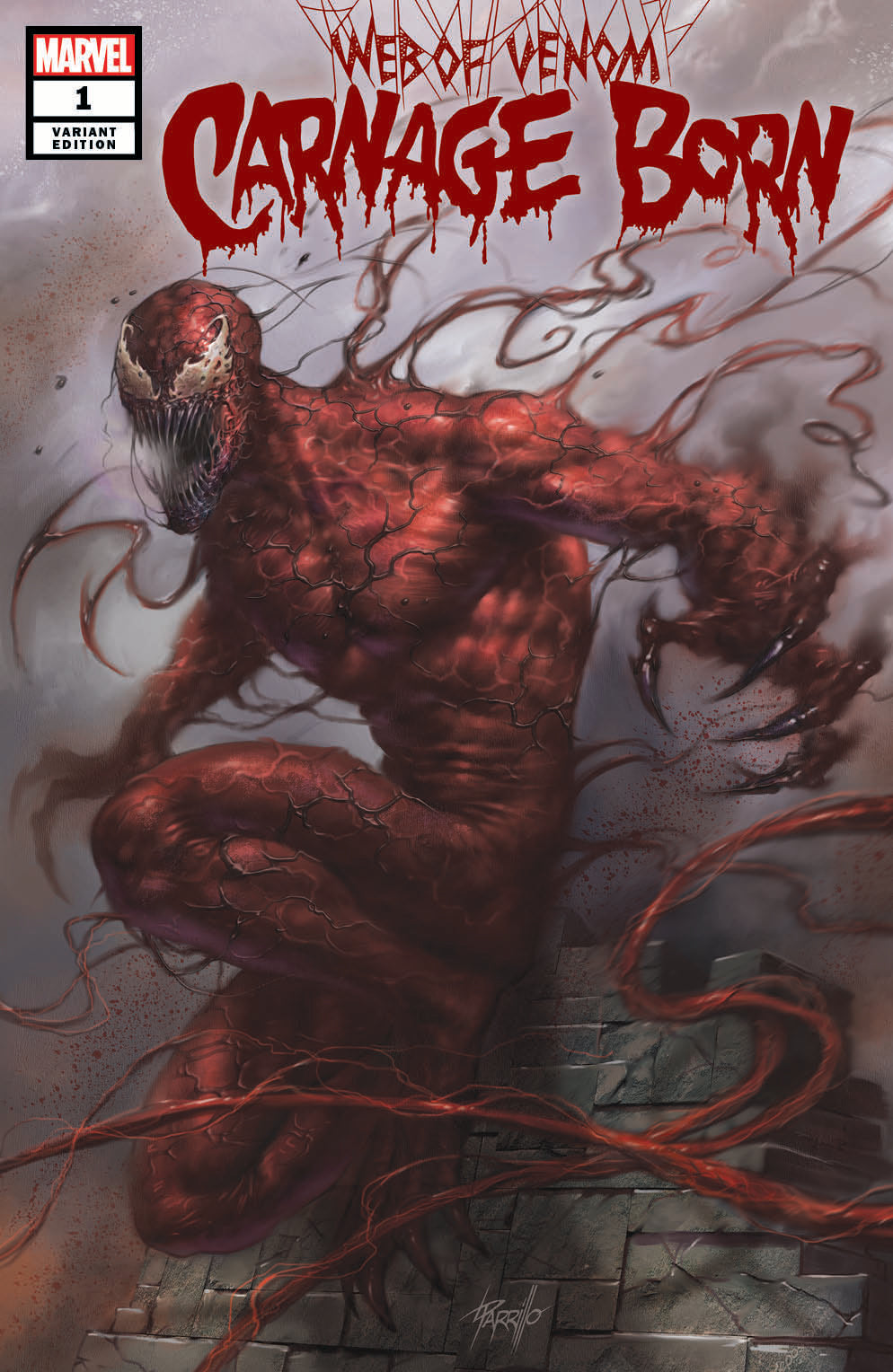 Web of Venom: Carnage Born #1 Parrillo Exclusive Variant
