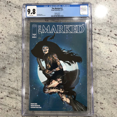 MARKED #1 ONE PER STORE VARIANT CGC 9.8