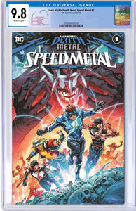 DARK NIGHTS DEATH METAL SPEED METAL #1 (ONE SHOT) CVR A CGC 9.8 + FREE RAW COPY