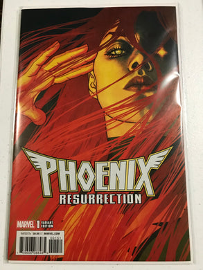 BTC NEWSLETTER DEAL PHOENIX RESURRECTION RETURN JEAN GREY #1 (OF 5) FRISON VAR 1:25 INCENTIVE VARIANT