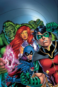 TITANS BURNING RAGE #1 (OF 7) 08/14/19 FOC 07/22/19