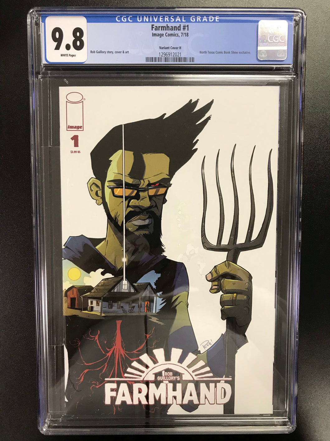 FARMHAND #1 BTC EXCLUSIVE CGC 9.8