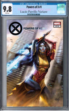 POWERS OF X #1 LUCIO PARRILLO EXCLUSIVE RAW & CGC  VARIANT OPTIONS 08/21/19