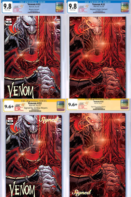 VENOM #32 JONBOY MEYERS EXCLUSIVE VARIANT CGC OPTIONS