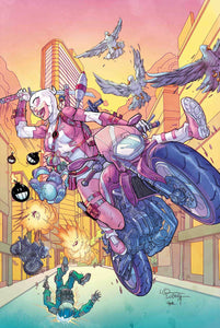 GWENPOOL STRIKES BACK #1 (OF 5) LUBERA VARIANT 08/14/19 FOC 07/22/19