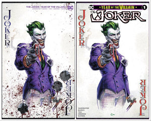 JOKER YEAR OF THE VILLAIN #1 CLAYTON CRAIN EXCLUSIVE