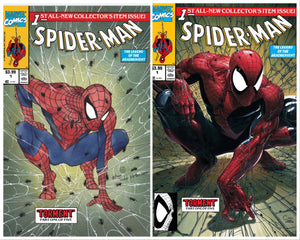 SPIDER-MAN #1 PEACH MOMOKO & CLAYTON CRAIN EXCLUSIVE VARIANT SET