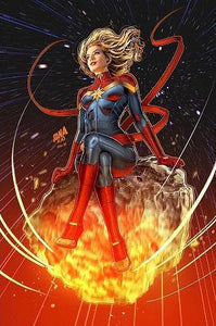 CAPTAIN MARVEL #1 NAKAYAMA VIRGIN VARIANT SUPERGIRL 23 HOMAGE