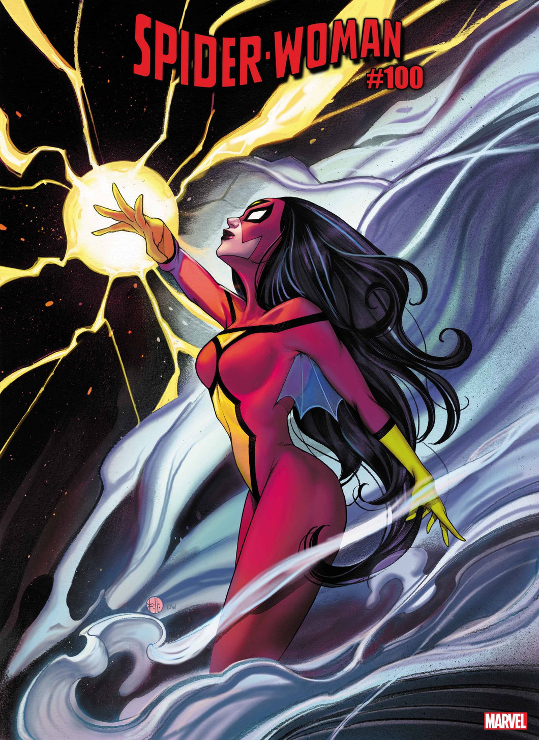 SPIDER-WOMAN #7 MOMOKO KNULLIFIED VARIANT 12//23//20 FREE SHIPPING AVAILABLE