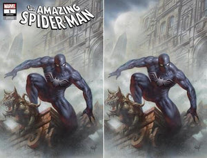 AMAZING SPIDER-MAN #1 (2018) LUCIO PARRILLO VARIANT COVER TRADE DRESS & VIRGIN SET