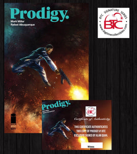 PRODIGY #1 ALAN QUAH EXCLUSIVE SIGNED W/COA & BTCSS SEAL