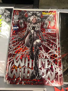 WHITE WIDOW #1 MEGACON 2019 RED FOIL EXCLUSIVE BY KAEL NGU