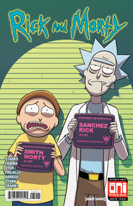 RICK & MORTY #39 CVR A RELEASE DATE 06/27