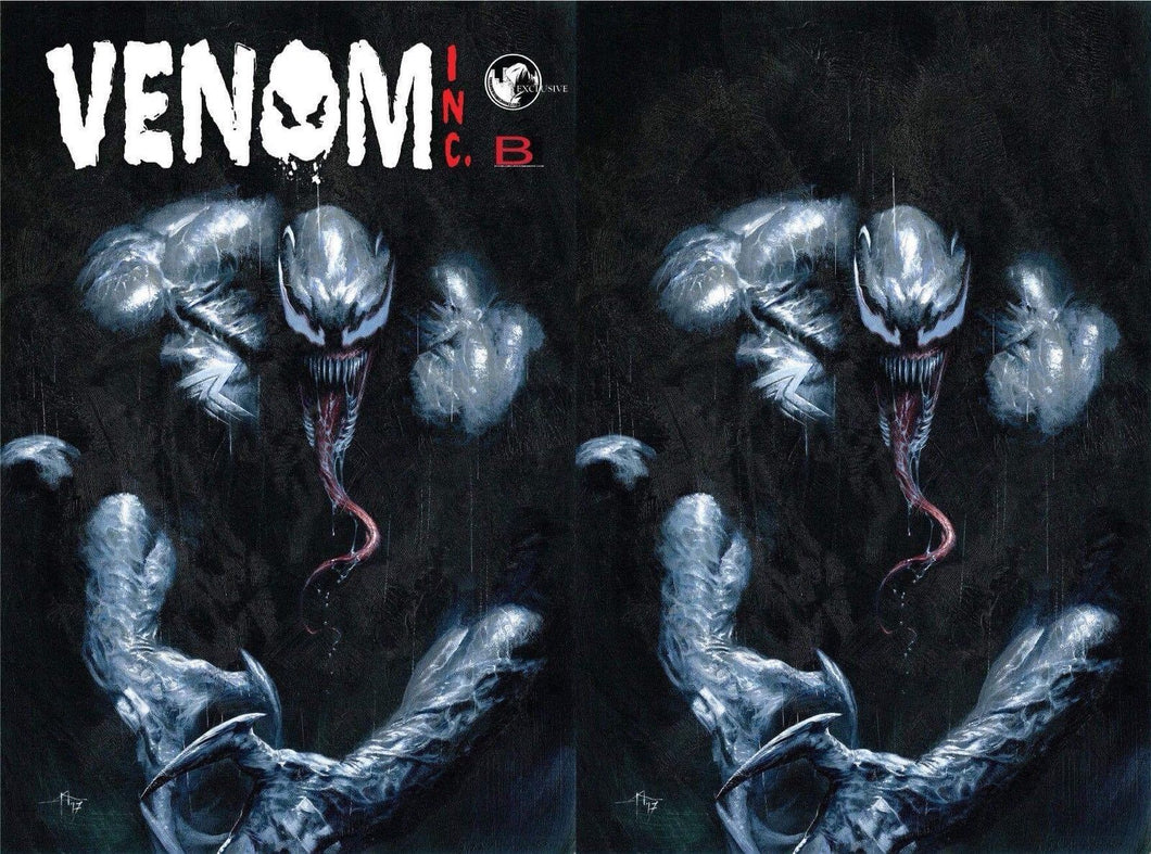 AMAZING SPIDER-MAN VENOM INC OMEGA  2-PACK - DELLOTTO EXCLUSIVE
