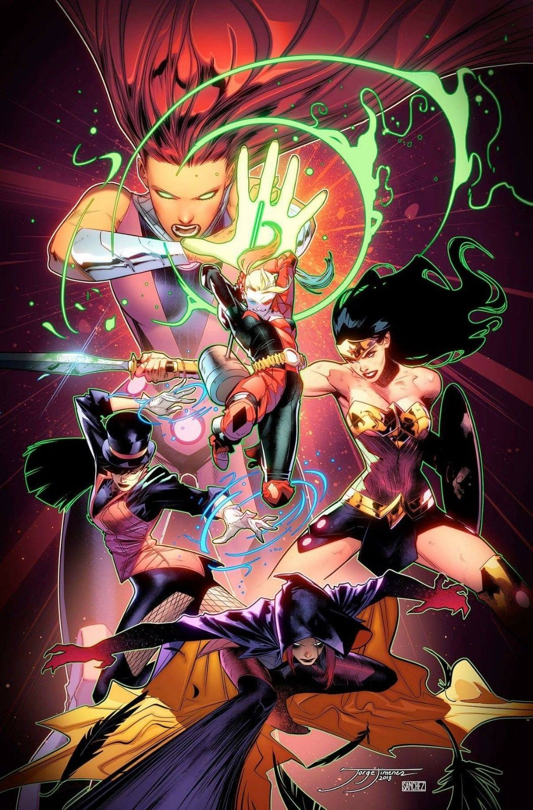 DC NATION #0 JLA 1:500 INCENTIVE VARIANT COVER 05/02/18 RELEASE DATE