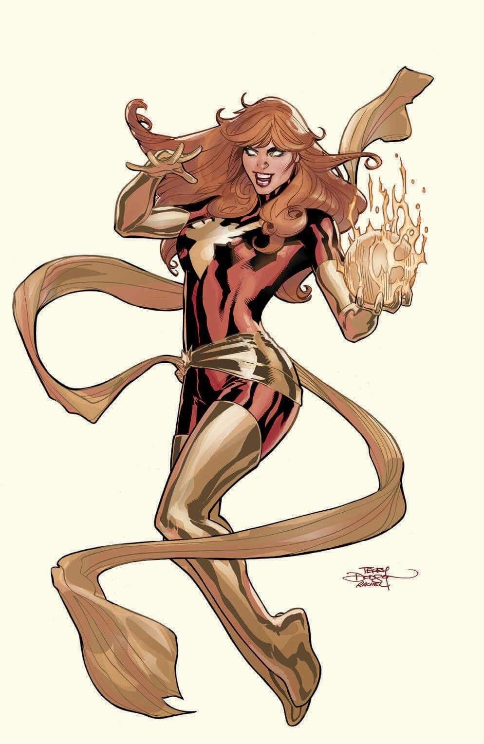 PHOENIX RESURRECTION #1 COVER B - BOOM EXCLUSIVE TERRY DODSON COVER