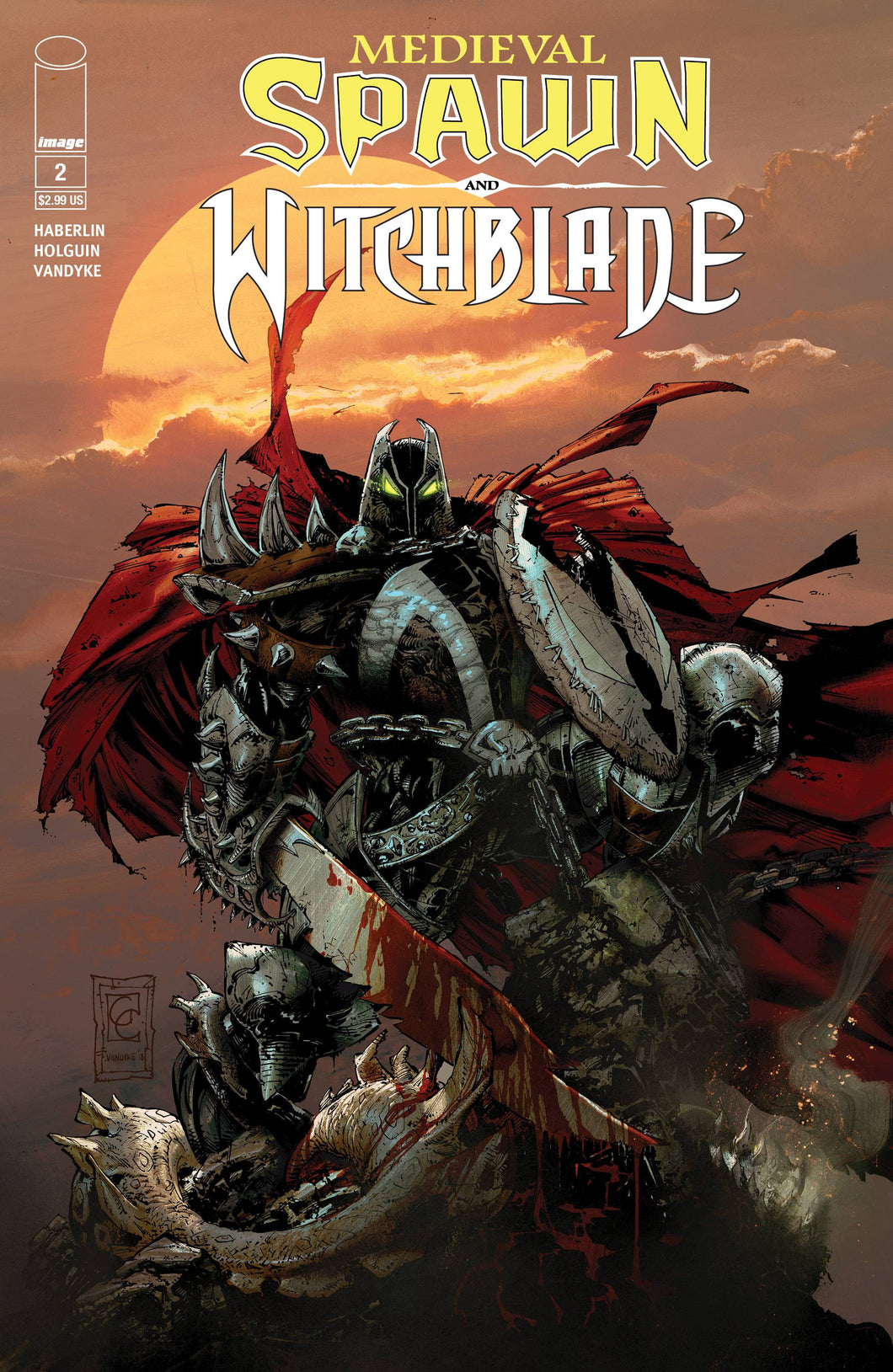 MEDIEVAL SPAWN WITCHBLADE #2 (OF 4) CVR B GREG CAPULLO 06/06