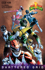 MIGHTY MORPHIN POWER RANGERS #25 SUBSCRIPTION GIBS 03/28/18