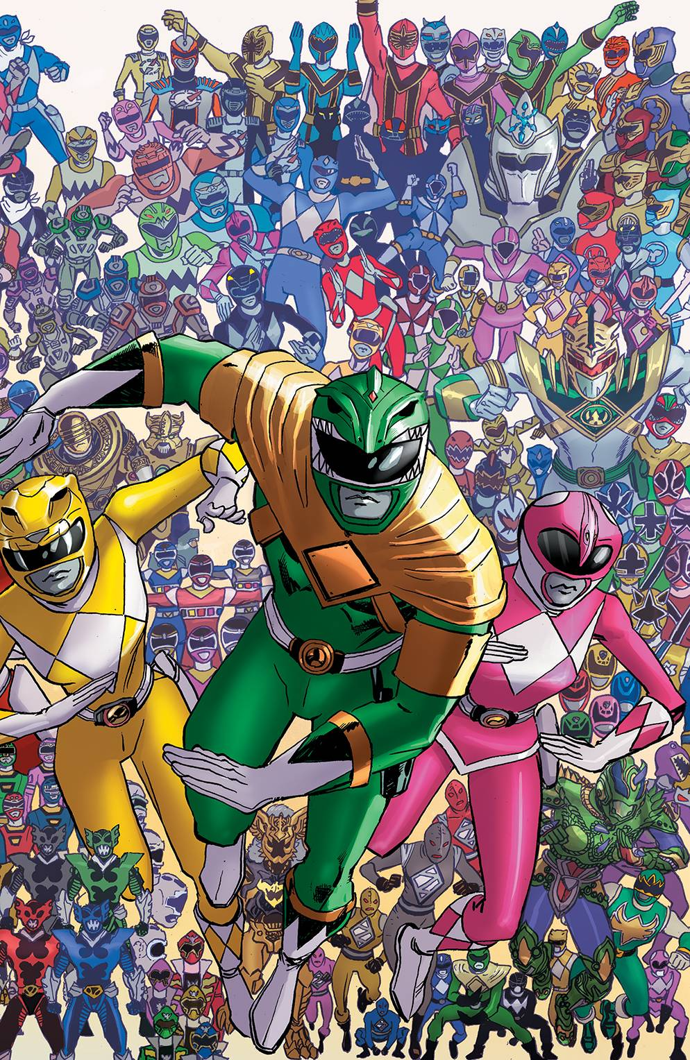 MIGHTY MORPHIN POWER RANGERS #25 1:25 COPY KOBLISH 03/28/18