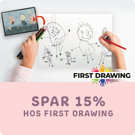 Få 15% rabat hos First Drawing