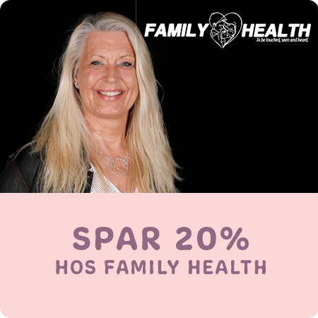 Spar 20 % hos Family Health