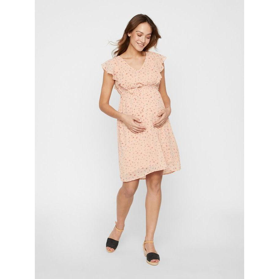 Mamalicious Floral 2-in-1 Maternity dress