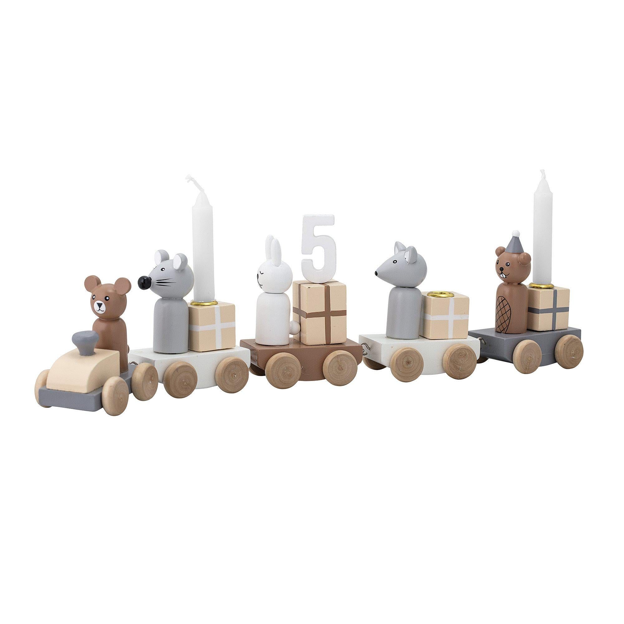 Image of   Bloomingville Birthday Decoration, Multi farvet, MDF
