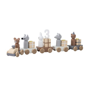 Bloomingville Birthday Decoration, Multi farvet, MDF