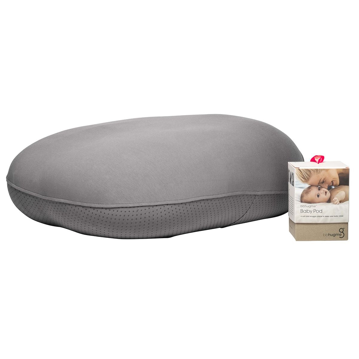 Image of   bbhugme Baby pod/cover til Graviditets- & ammepude, Stone