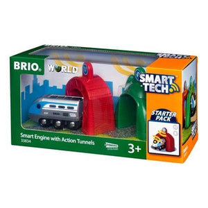 BRIO Smart Tech lokomotiv med action-tuneller - 33834