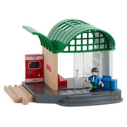 Image of   BRIO Togstation - 33745