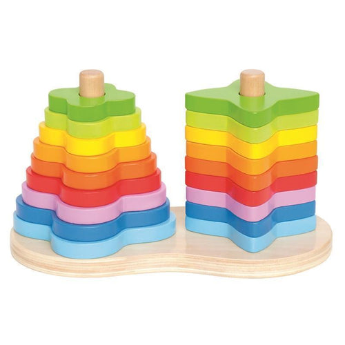 Double Rainbow Stacker fra Hape fra Hape