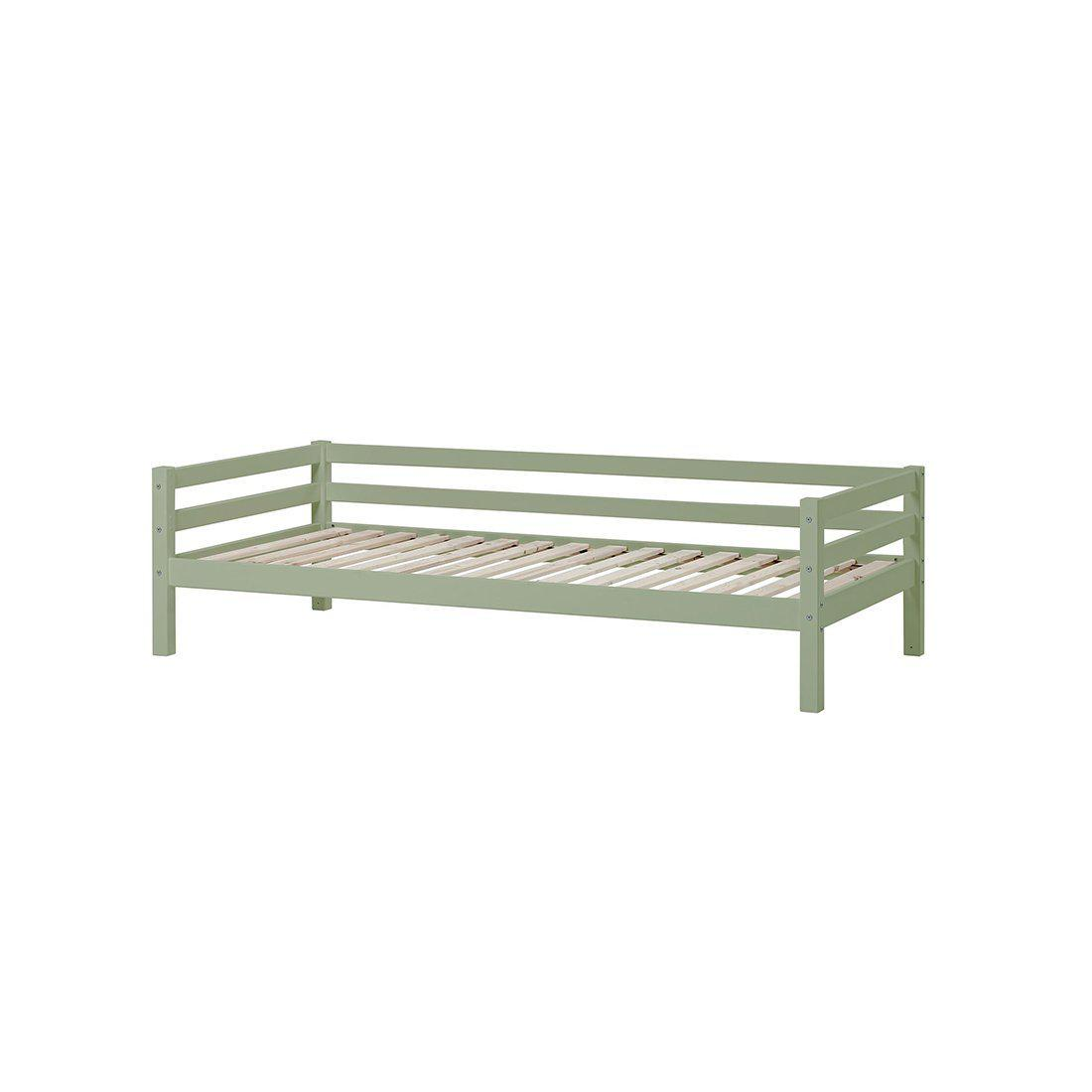 Image of   Hoppekids BASIC My Color Delbar Juniorseng - 90x200 cm - Pale Green