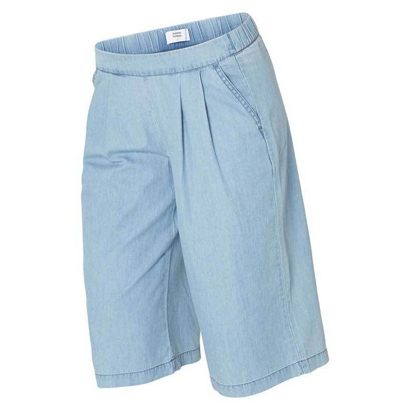 Image of   Mamalicious Tanja vente / graviditets shorts - Light blue demin